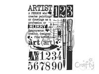 Šablóna A4 - Artist, Hobby
