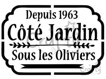 Šablóna A4 - Côté Jardin