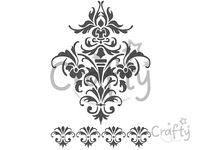 Šablóna A4 - textúra ornament