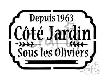 Šablóna A5 - Côté Jardin
