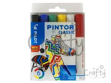 Sada popisovačov PILOT Pintor F - Classic