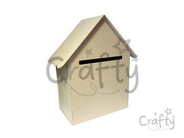 Schránka z MDF 50cm - domček