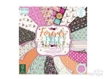 Scrapbookové papiere 48ks - Forever Free