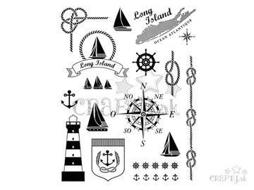 Silikónové pečiatky A5 - námornícke - Long Island