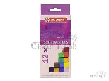 Suchý SOFT pastel TALENS 12ks
