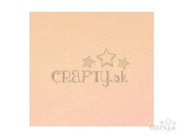 Syntetická koženka - eko koža - 30cm - pastelová ružová