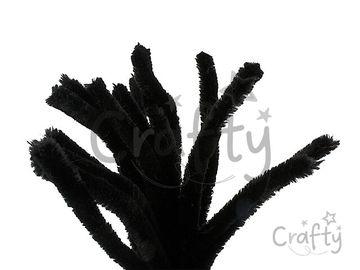 Žinilkový drôt 15mm 30cm - čierny