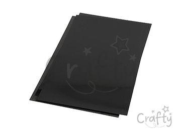 Zmršťovacia fólia 20x30cm - matná čierna