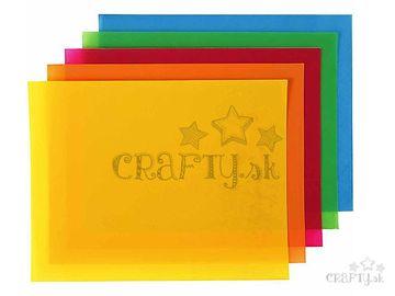 Zmršťovacia fólia 20x30cm - neónová modrá