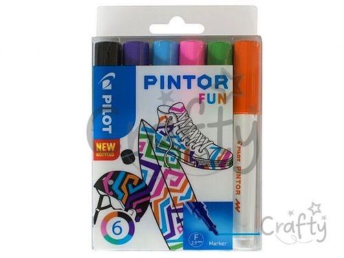 Sada popisovačov PILOT Pintor F - Fun