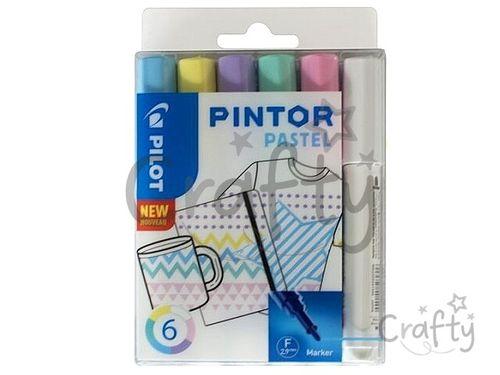 Sada popisovačov PILOT Pintor F - Pastel
