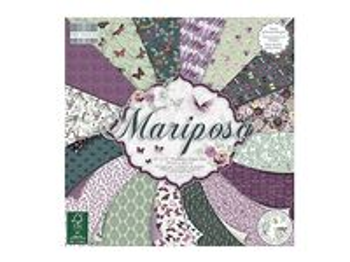 Scrapbookové papiere 48ks - Mariposa