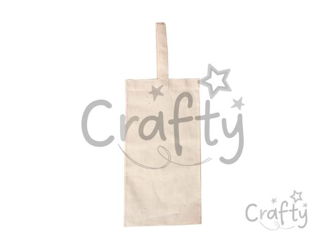 7469a0ff9e crafty.sk - Textilná taška na fľašu